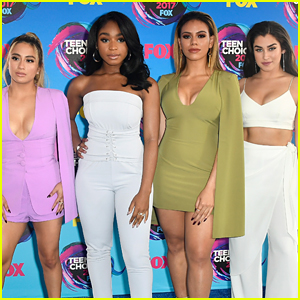 Fifth Harmony Wins Big at 2017 Teen Choice Awards!