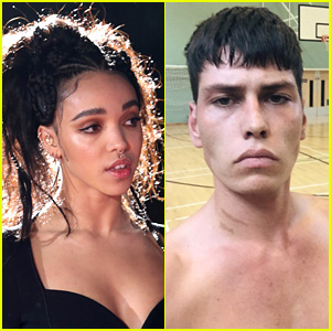 FKA twigs Hangs Out with Model Brieuc Breitenstein in Ibiza