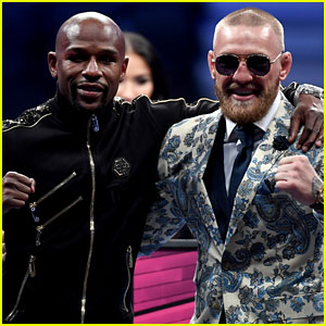 Floyd Mayweather & Conor McGregor Pay Each Other Compliments in Post-Fight Press Conferences (Video)