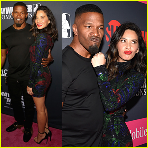 Jamie Foxx, Olivia Munn, & Tons of Other Celebs Attend Mayweather vs. McGregor Fight in Vegas!