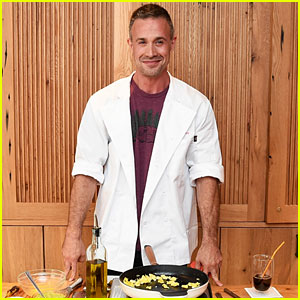 Freddie Prinze Jr. Cooks Up One of His Recipes for Dunkin Donuts!