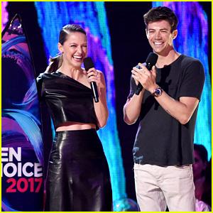 Grant Gustin & Melissa Benoist Are Both Teen Choice Winners!