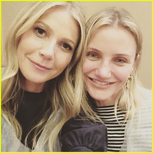 Gwyneth Paltrow Posts Sweet Birthday Selfie With Cameron Diaz: 'I Adore You'