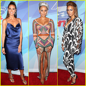 Heidi Klum, Mel B & Tyra Banks Bring the Fashion To 'America's Got Talent' Live Shows!