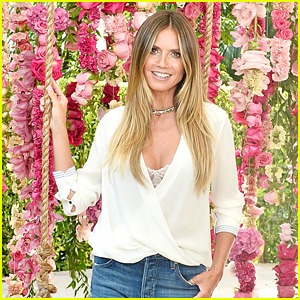 Heidi Klum Says Her Kids Don't Mind Her Revealing Instagrams
