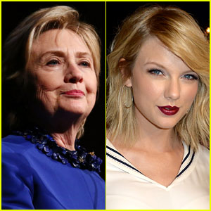 Hillary Clinton Just Supported Taylor Swift in a Subtle Way