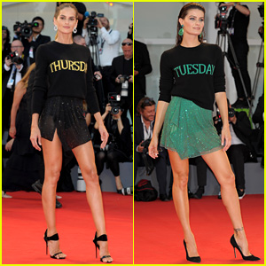 Izabel Goulart & Isabeli Fontana Wear Matching Sweaters, But Only One Wore the Correct Day!