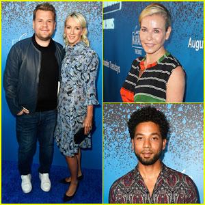 James Corden Celebrates Launch of 'Carpool Karaoke: The Series' with Wife Julia Carey!