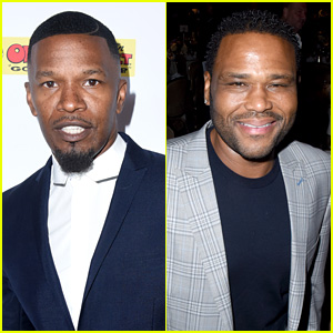 Jamie Foxx & Anthony Anderson Suit Up for Charity Gala!