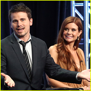 Jason Ritter & Joanna Garcia Promote 'Kevin (Probably) Saves the World' at Summer TCAs
