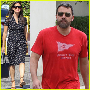 Jennifer Garner & Ben Affleck Take Their Kids to Sunday Service