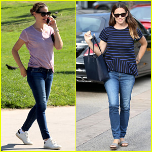 Jennifer Garner Takes in the Venice Beach Vibe With Her Family