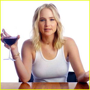 Jennifer Lawrence Needs a Wine Drinking Partner to Hang Out With & Talk Politics!