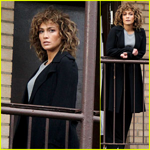 Jennifer Lopez Looks Fierce While Wrapping Up Filming for 'Shades of Blue' Season 3!