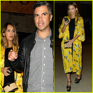 Pregnant Jessica Alba & Husband Cash Warren Step Out for Date Night at 'Hamilton' Event!