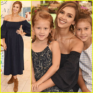Jessica Alba's Daughters Honor & Haven Look So Grown Up at Honest Company Event!