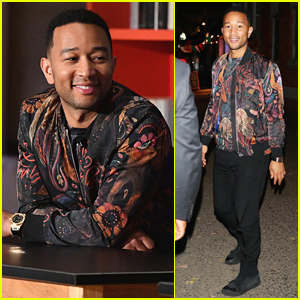 John Legend Attends Launch of Axe Senior Orientation Program!