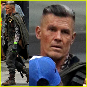 Josh Brolin Spotted in Costume as Cable on 'Deadpool 2' Set!