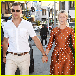 Julianne Hough & Husband Brooks Laich Make First Official Post-Wedding Appearance!