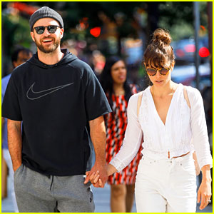 Justin Timberlake & Jessica Biel Head to Brunch Hand in Hand