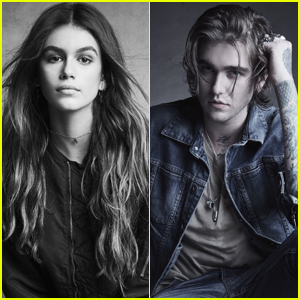 Kaia Gerber & Gabriel-Kane Day-Lewis Star in 'Hudson Jeans' Campaign!