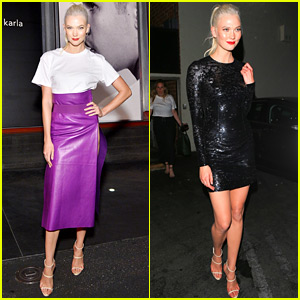 Karlie Kloss Celebrates 25th Birthday at Hanes x karla Launch