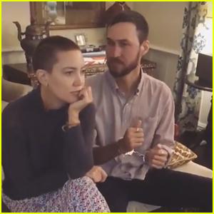 Kate Hudson Debuts Shaved Head with Boyfriend Danny Fujikawa - See the Photos!