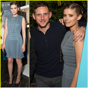 Kate Mara Gets Support from Hubby Jamie Bell at Haute Living Celebration!