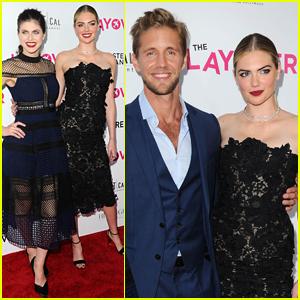 Kate Upton & Alexandra Daddario Premiere 'The Layover' in LA