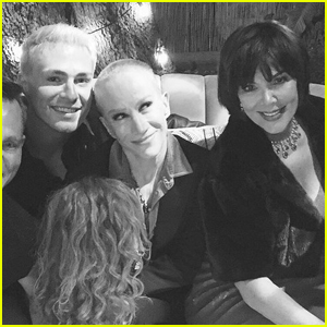 Kathy Griffin Shows Off Shaved Head During Hang Session With Kris Jenner & Colton Haynes