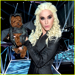 Katy Perry Dresses as Daenerys with Her Dog as a Dragon at MTV VMAs 2017!
