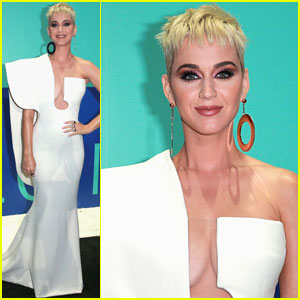 Katy Perry Arrives for MTV VMAs 2017 Hosting Gig!