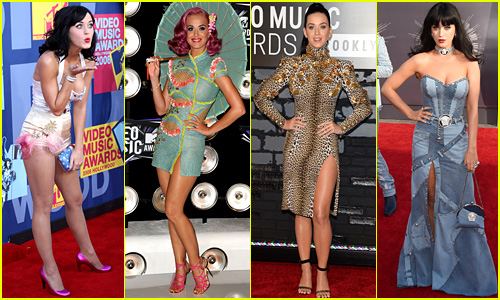 Katy Perry's VMAs Fashion Through the Years - See Photos!