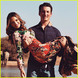 Keleigh Sperry Shares More of Her & Miles Teller's Engagement Photos!