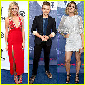Kelsea Ballerini, Hunter Hayes, & Cassadee Pope Stun at ACM Honors 2017