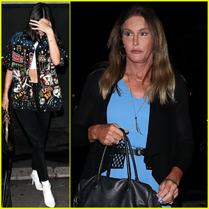 Kendall Jenner Meets Up with Caitlyn for Sushi Dinner
