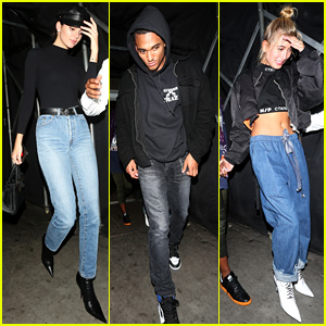 Kendall Jenner Has Night Out With Ex Jordan Clarkson
