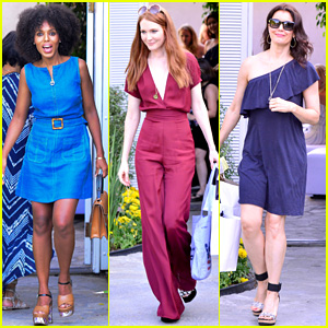 Kerry Washington & Her 'Scandal' Ladies Have Fun Together at Jennifer Klein's Day of Indulgence