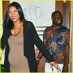 Kevin Hart & Pregnant Wife Eniko Parrish Enjoy L.A. Date Night!
