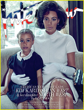 Kim Kardashian Covers 'Interview' with North - See Every Photo!