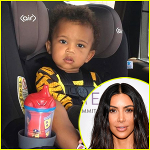 Kim Kardashian Responds to Mommy Shamers Over Son Saint's Car Seat (VIDEO)
