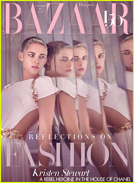 Kristen Stewart Discusses Her Sexuality, 'Resting B-tch Face' & More with Harper's Bazaar UK!