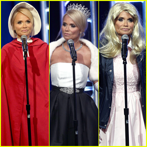 Kristin Chenoweth Dresses Up as TV's Favorite Characters at TCAs!