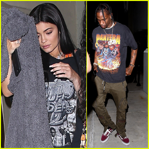 Kylie Jenner Celebrates Her Birthday with Boyfriend Travis Scott