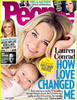 Lauren Conrad Debuts First Photo of Newborn Son Liam James