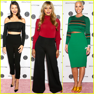 Laverne Cox, Adriana Lima, & Amber Rose Go Glam for Beautycon 2017