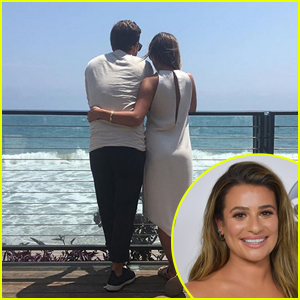 Lea Michele Shares Adorable Photo with Boyfriend Zandy Reich!