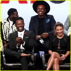Lea Michele, Brandon Micheal Hall & 'The Mayor' Cast Hit the ABC TCA 2017