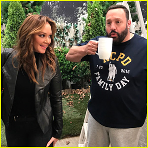 Leah Remini Shares First Photos from 'Kevin Can Wait' Season 2 Set!