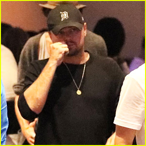 Leonardo DiCaprio Hangs Out in Vegas Before the Big Fight